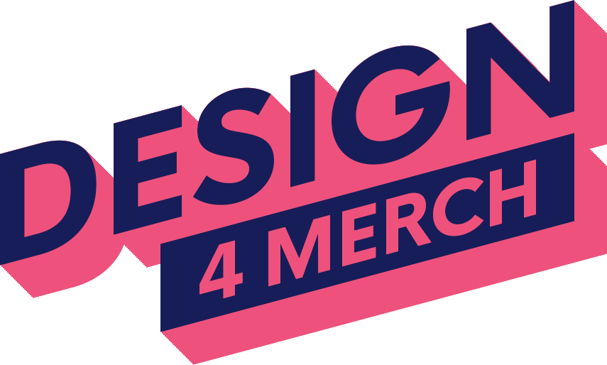 Design4Merch Logo Bright